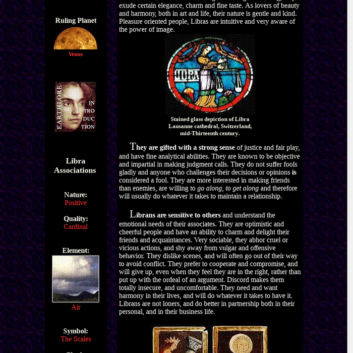 Mix · Libra Astrology - Earthlore Explorations - Lore of