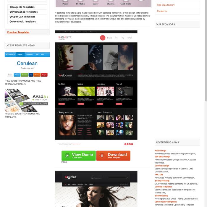 Mix · Free Bootstrap Templates - OSWT Free Web Templates