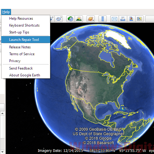 Mix · Google Earth Pro Not Working or Not Responding on Windows 10