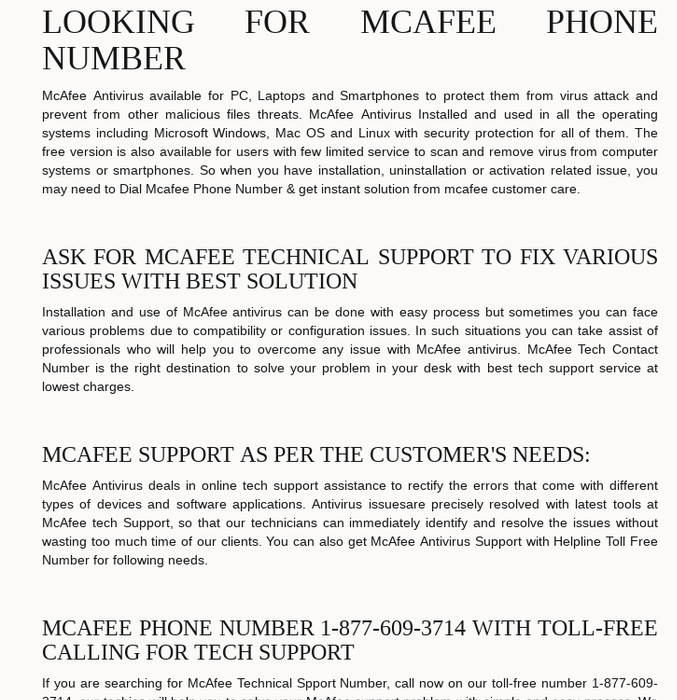 Mix · McAfee Support Phone Number | Toll Free | McAfee Customer Service