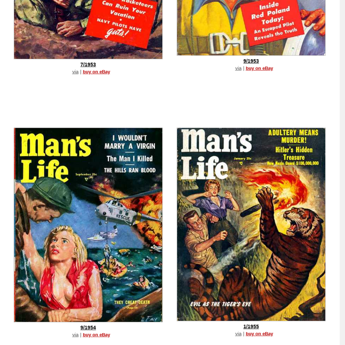 coverbrowser.comMan's Life CoversA cover gallery for Man's Life
