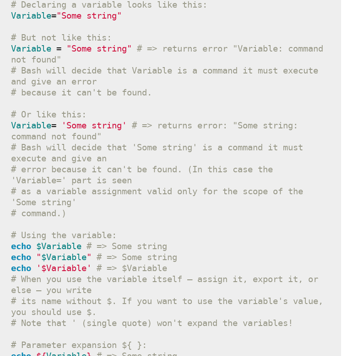Bash Assign Variable Quotes