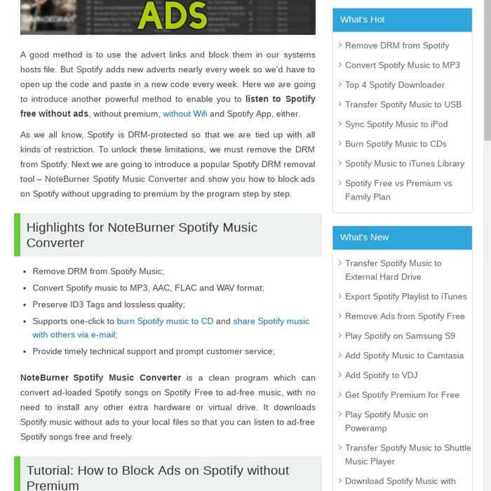 block spotify ads