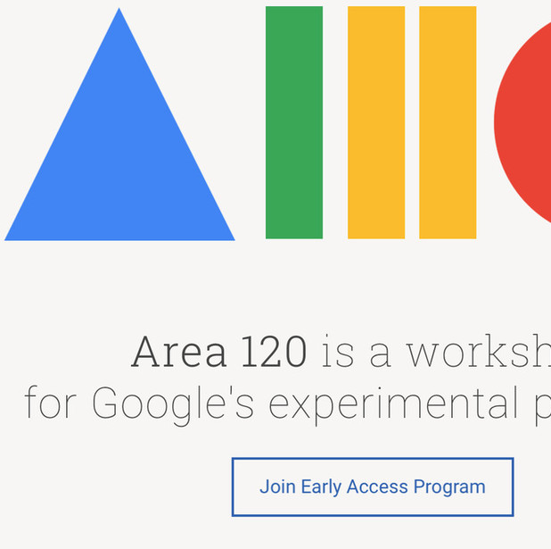 Mix · You can now sign up for early access to Google's wacky Area