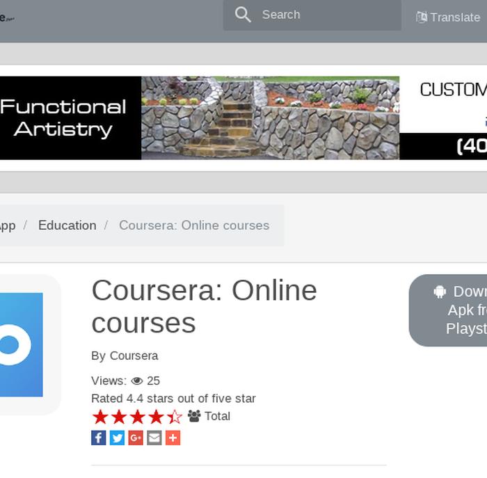 Mix · Coursera: Online courses | ApkEngine net - Apk - Apk file