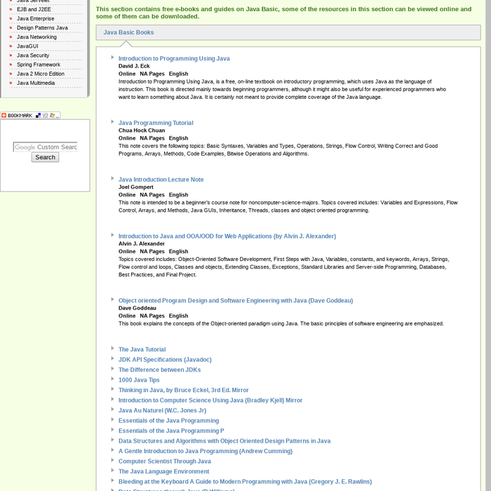 Mix · Free Java Basic Books Download   Ebooks Online Textbooks
