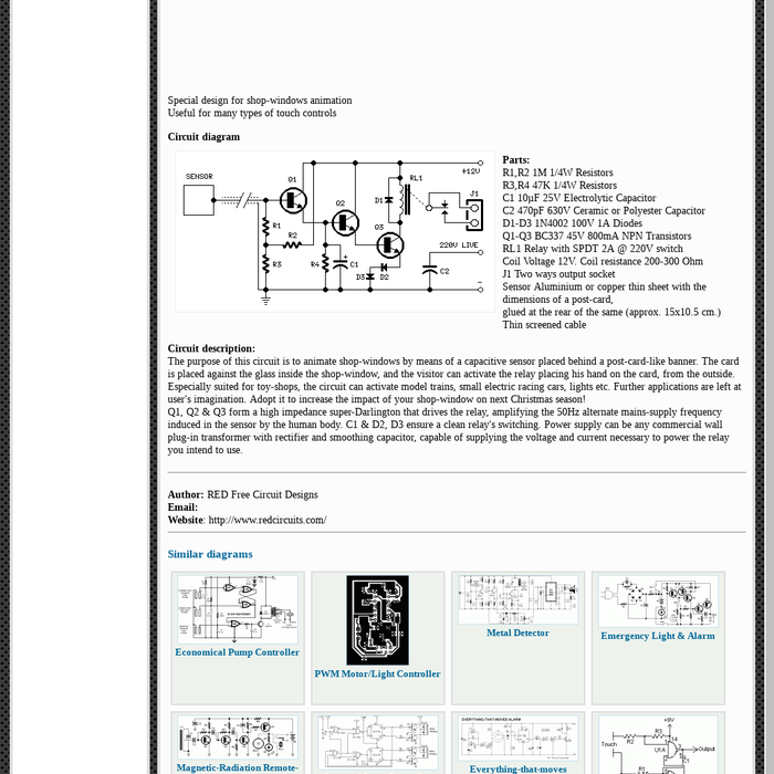 Phenomenal Mix How To Build Capacitive Sensor Circuit Diagram Wiring Database Apannorabwedabyuccorg