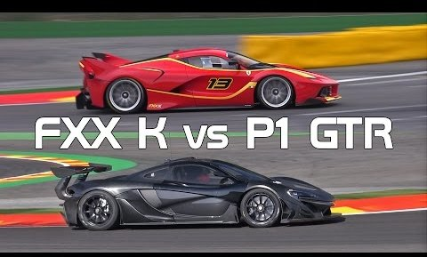 Mix Mclaren P1 Gtr Vs Ferrari Fxx K Sound Comparison