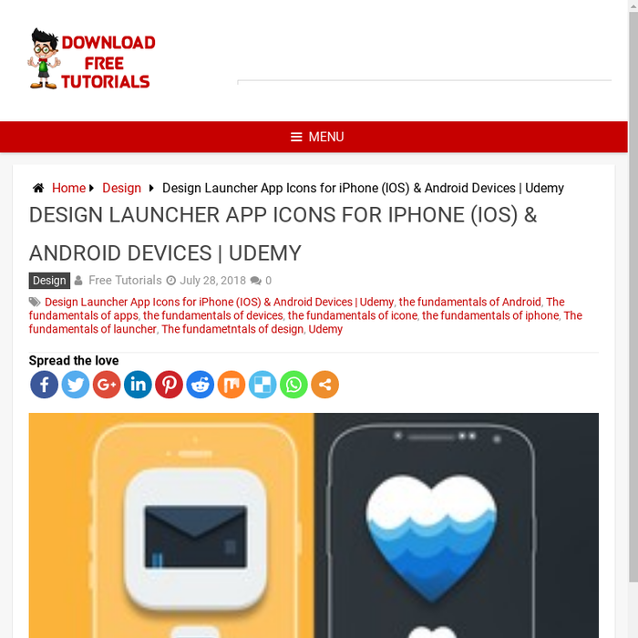 Mix · Design Launcher App Icons for iPhone (IOS) & Android